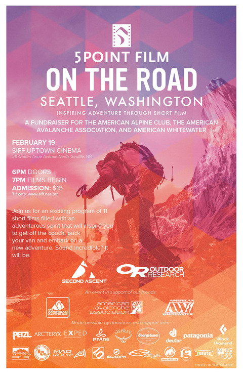 Second Ascent Presents: 5Point Film Festival at the Siff